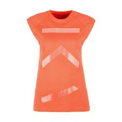 Cotton Tank Top FIRE | Coral