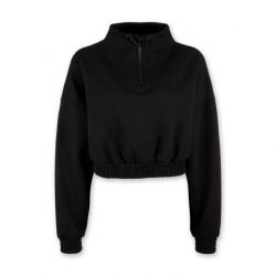 Cropped Sweater WIND | Black