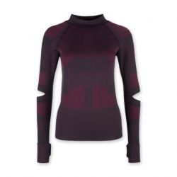 Seamless Longsleeve Shirt | Burgundy