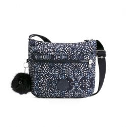 Cross Body Shoulder Bag Arto | White Blue