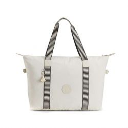 Shopper Bag Eyes Wide Open | White