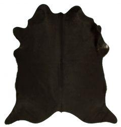 Einzigartiger Rindslederteppich | Schwarzgrau