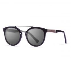 Sunglasses San Francisco | Black + Shiny Black Frame