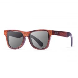 Sunglasses Washington | Black + Dark Brown & Acetate Frame