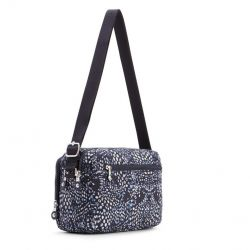 Shoulder Bag Silen | White Blue