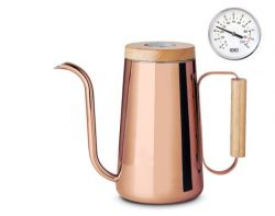 Copper Kettle 800ml | With Thermometer