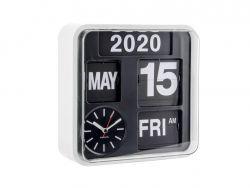 Horloge Murale Mini Flip | Noir & Blanc