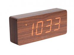 Alarm Clock Tube | Dark Wood