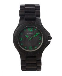 WeWood Watch Kale Black/green