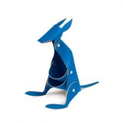 Schreibtischorganisator Känguru | Blau