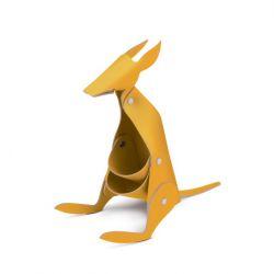 Schreibtischorganisator Känguru | Gelb