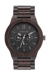 WeWood Watch KAPPA Black