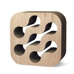 Cardboard Wine Rack | Natural