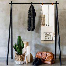 Kleiderständer Hongi | Schwarz