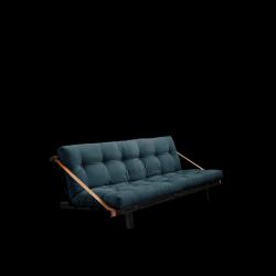 Sofabed Jump | Black Frame | Petrol Blue