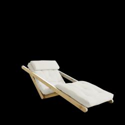 Sofabed Figo 70 | Natural Frame + Natural Mattress