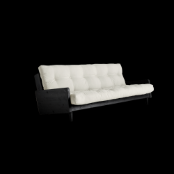 Sofabed Indie | Black Frame + Natural Mattress