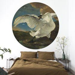Wandplakat 190 cm Goldenes Zeitalter | Schwan
