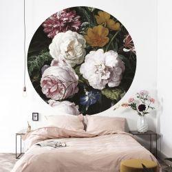 Wandplakat 190 cm Goldenes Zeitalter | Blumen