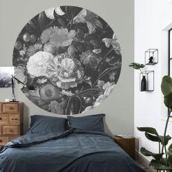 Wandplakat 190 cm Goldenes Zeitalter | Schwarz-Weiß