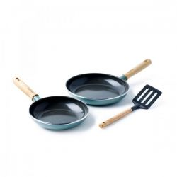 Ceramic Non-stick Pan Mayflower | Set of 3