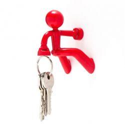 Porte-clés Pete | Rouge