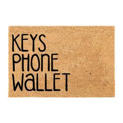 Fußmatten-Tasten Telefon-Brieftasche