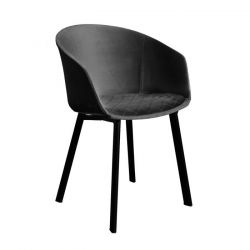 Dining Chair Vic | Dark Grey