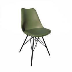 Bucket Seat Metal Luuk | Green