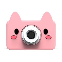 Digital Camera for Kids 24 MP | Pig