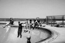 "Kunstfoto ""Kids in Bondi Beach"""