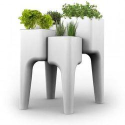 Gemüsegarten-Tisch KIGA | Weiß XL