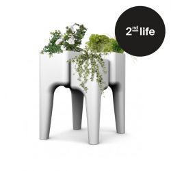 2tes Leben | Gemüsegarten-Tisch KIGA | Weiß M