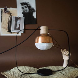 Table Lamp The New Old Light Plump | Copper