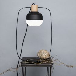 Lampe de Table The New Old Light Tall | Noir