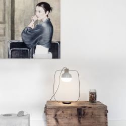 Lampe de Table The New Old Light Tall | Blanc