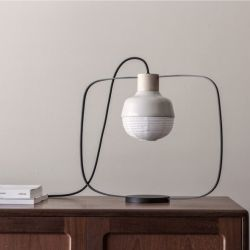 Lampe de Table The New Old Light Plump | Blanc