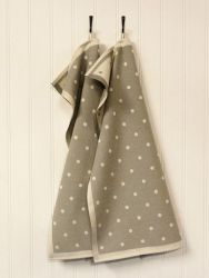 A set of 2 Kitchen Towels Grey