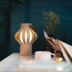 Collapsible Lantern Light Wuse | Natural