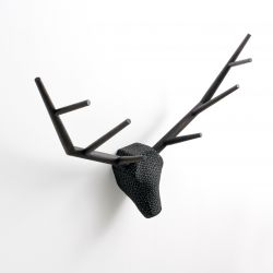 Coat Hanger Hunting Trophy YY | Black Oak / Night Vision