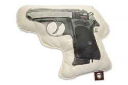 Coussin Killing Me Softly | Pistolet