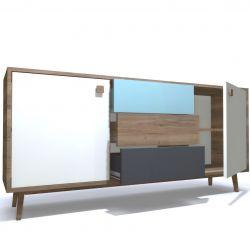 Low Cabinet Oak 01 | 1