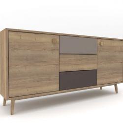 Low Cabinet Oak 01 | 6