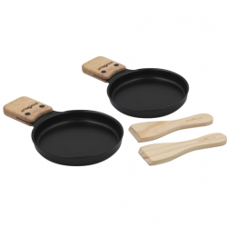Raclette Cheese Pan | Set Of 2