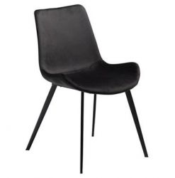 Hype chair, Meteorite black velvet