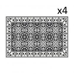 Vinyl Placemats Portugal Set of 4