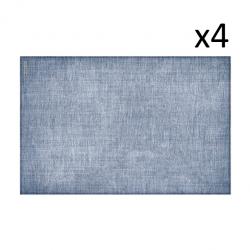 Vinyl Placemat Linen Set of 4