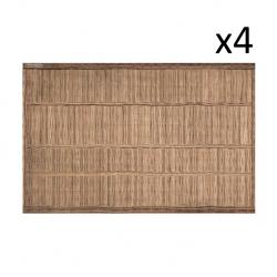 Vinyl Placemat Reed Set of 4