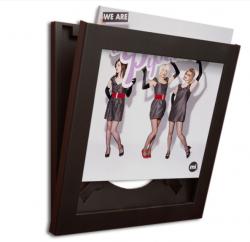 Art Vinyl Flip Frames | Schwarz