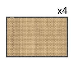 Vinyl Placemat Tatami Set of 4